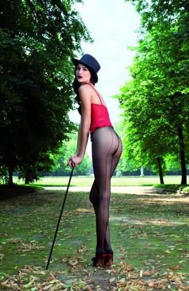 Exclusieve panty met achternaad Jessy van Trasparenze