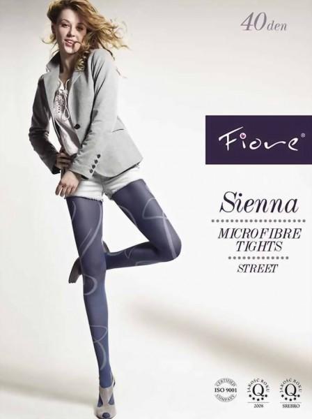Pantys met patroon Sienna 40 DEN van Fiore