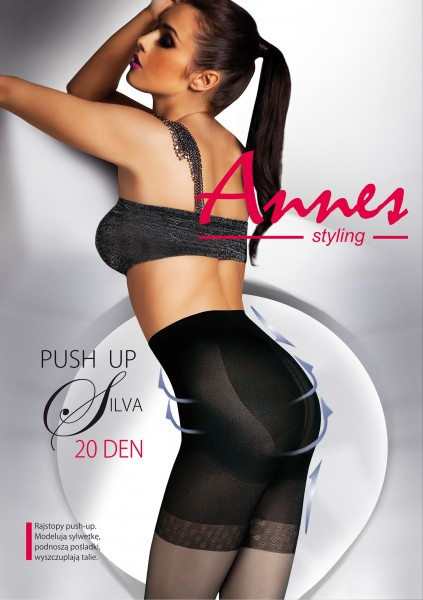 Figuurvormende push up panty Silva van Annes, 20 DEN