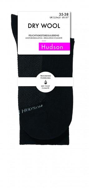 Sokken met wol en vochtigheidscontrole Dry Wool van Hudson
