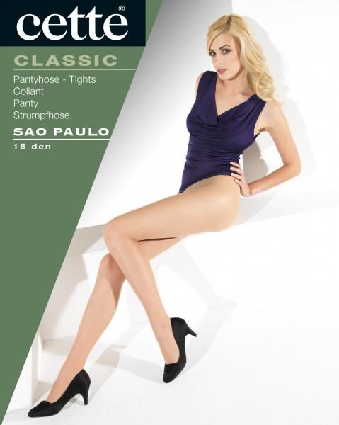 Cette Sao Paulo - Gladde, klassieke panty met satijnglans