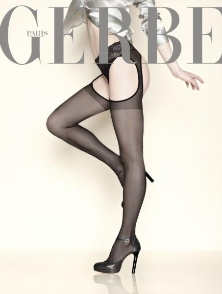 Strip panty met kanten tailleband Foly van Gerbe