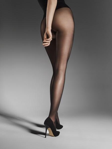 Fijne, glanzende panty met open kruis Ouvert 20 van Fiore