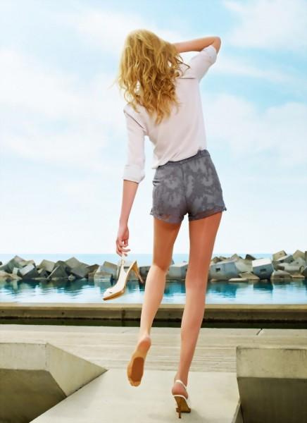 Ultra-transparante zomerpanty met anti-slip noppen Sevilla van Cecilia de Rafael, 15 DEN