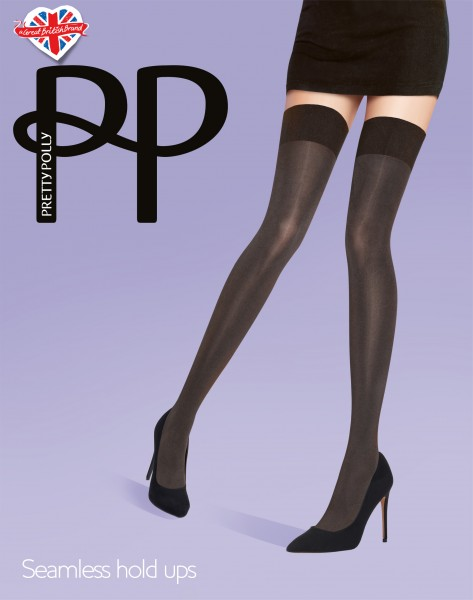 Gladde opaque stay ups, naadloz, Seamless Opaque Hold Ups van Pretty Polly