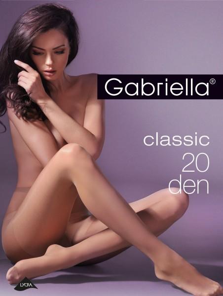 Klassieke panty Classic 20 van Gabriella