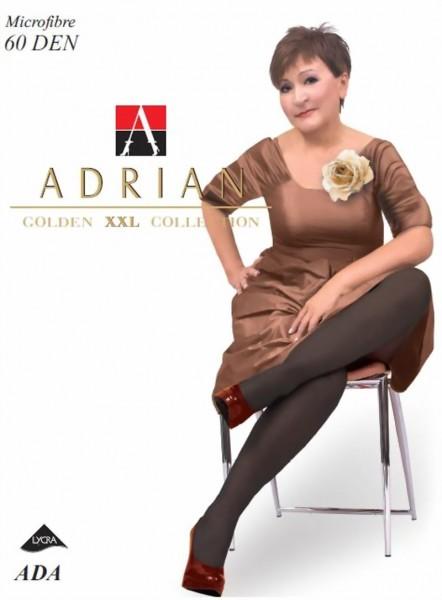 Grote maten pantys Ada van Adrian, 60 DEN