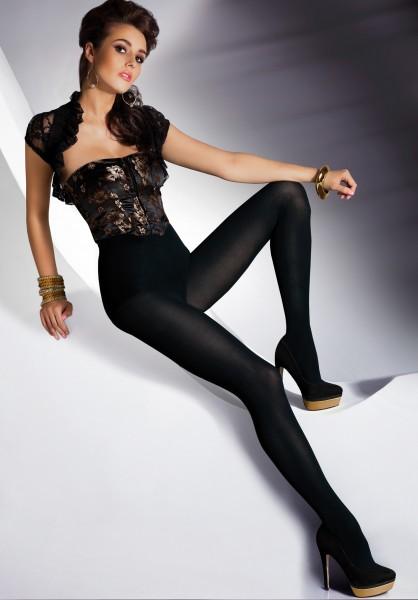 Gladde opaque panty met katoen Merle van Annes
