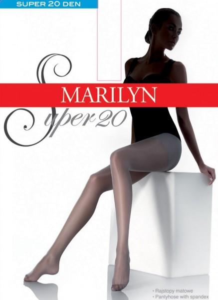 Klassieke gladde panty Super 20 van Marilyn