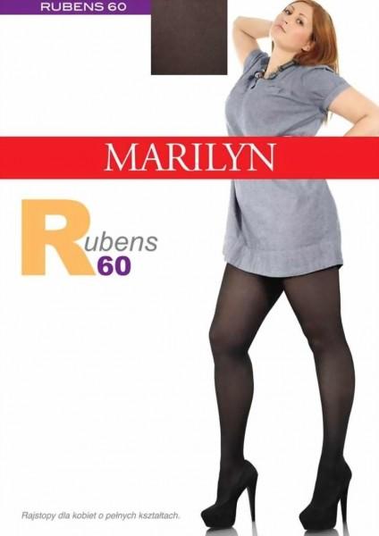 Grote maten panty Rubens van Marilyn, 60 DEN