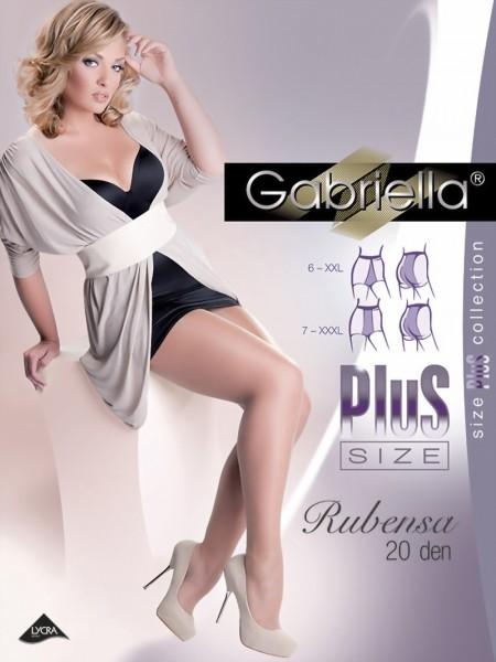 Grote maten panty Rubensa van Gabriella, 20 DEN