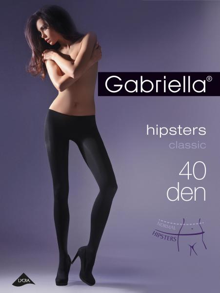 Gladde heuppanty Hipsters 40 DEN van Gabriella