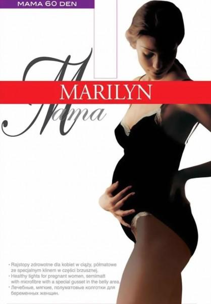 Gladde ondoorzichtige zwangerschapspanty Mama 60 DEN van Marilyn