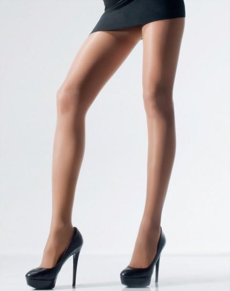 Klassieke decent glanzende panty Victoria van Samburu, 15 DEN