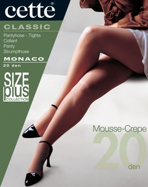 Cette Monaco Size Plus - Fijne mousse panty zonder elastan