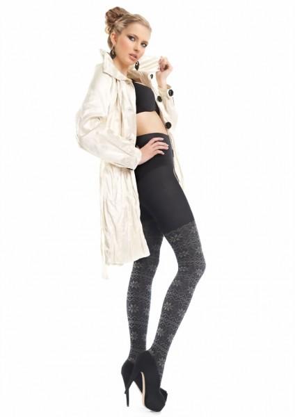 Extravagante pantys met nordic patroon Cotton van Marilyn