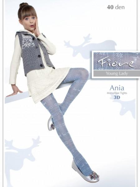 Trendy kinderpantys met Noors patroon Ania van Fiore