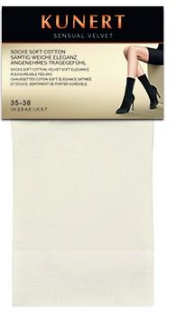Zachte sokken met katoen Sensual Velvet van Kunert
