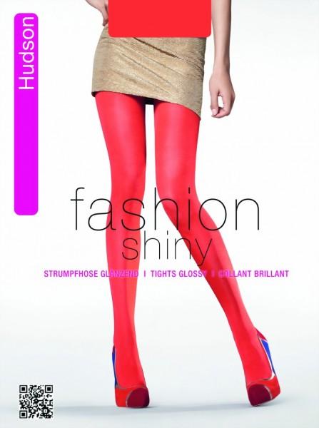 Ondoorzichtige glanzende panty in trendy kleuren Glossy Glimmer van Hudson