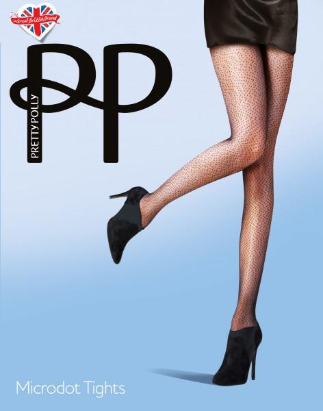 Pretty Polly Microdot - Transparante panty met stippen