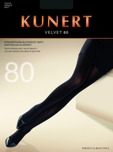 Gladde opaque panty Velvet 80 van KUNERT