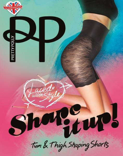 Shape It Up - Figuurvormende Lace Shaper Shorts van Pretty Polly