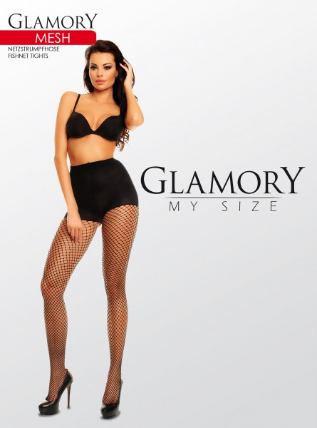 Grote maten netpanty Mesh van Glamory