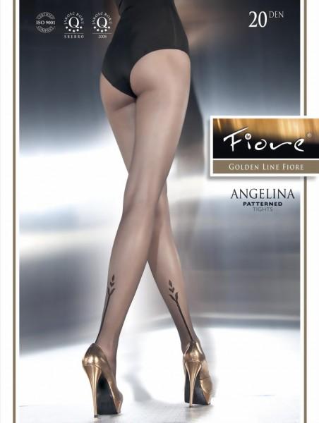 Pantys met patroon Angelina van Fiore, 20 DEN