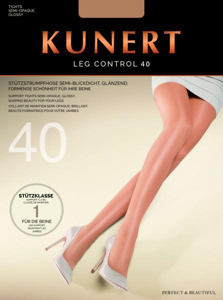 Comfortabele steunpanty Leg Control 40 van KUNERT