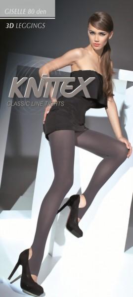 Gladde ondoorzichtige leggings Giselle 80 DEN van Knittex