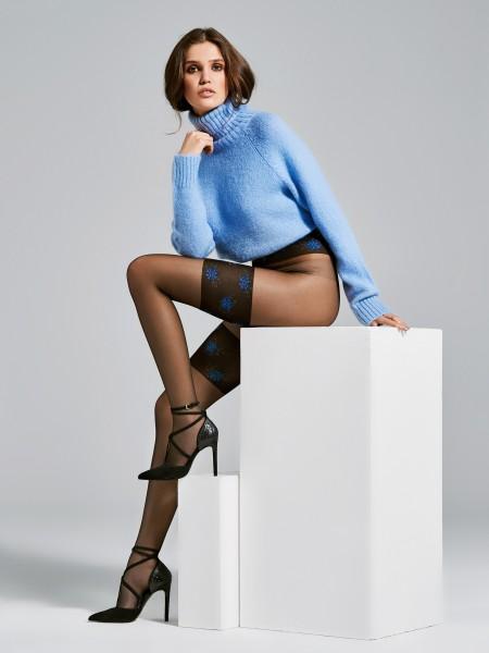 Panty met kousen-look van Fiore, 20 DEN