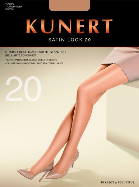 Glanzende gladde panty Satin Look 20 van KUNERT