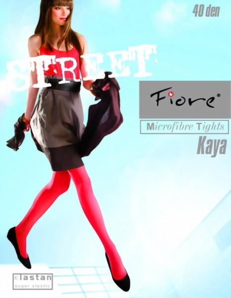 Klassieke gladde panty Kaya van Fiore, 40 DEN
