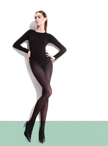 Gladde semi-opaque panty van microvezel Paula van Fiore, 40 DEN