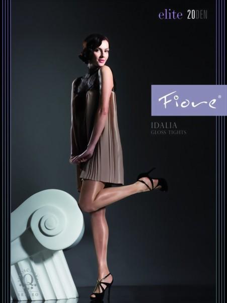 Gladde glanzende panty Idalia van Fiore, 20 DEN