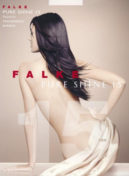 FALKE Pure Shine 15 - Fijne glanzende panty