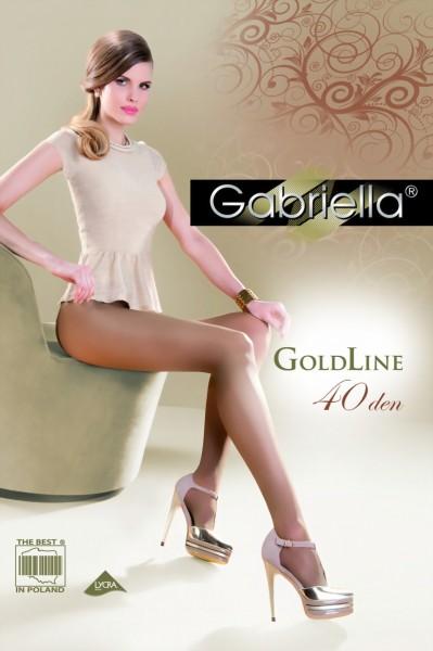 Elegante klassieke panty Gold 40 DEN van Gabriella