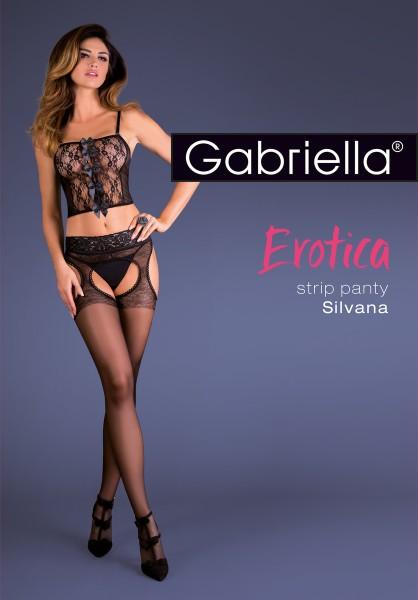 Strip Panty met kanten boord van Gabriella