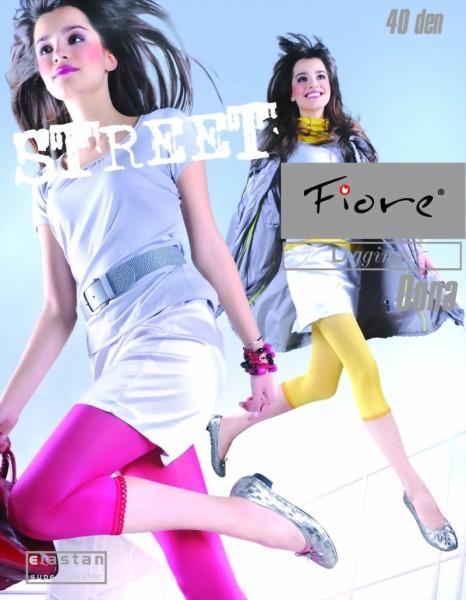 3/4-leggings van microvezel Dona 40 DEN van Fiore