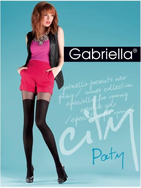 Trendy over de knie panty Paty van Gabriella