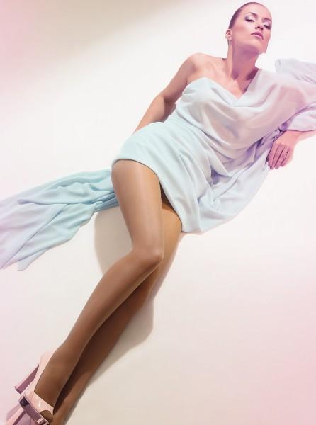 Giulia Infinity 20 - Gladde transparante panty
