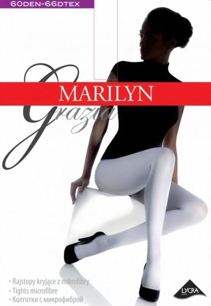 Gladde ondoorzichtige pantys Grazia van Marilyn, 60 DEN