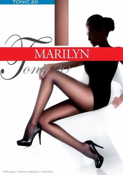 Gladde semi-ondoorzichtige pantys Tonic 20 van Marilyn